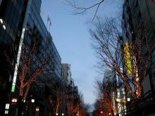 続 東京百景(BETA version)-#007 薄暮の宮益坂