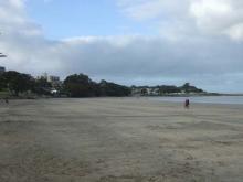 お宝広告館 【まれにみるみれにあむ】-デバンポート付近の砂浜