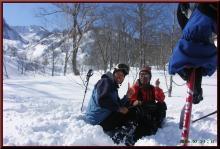 ロフトで綴る山と山スキー-暫し休憩