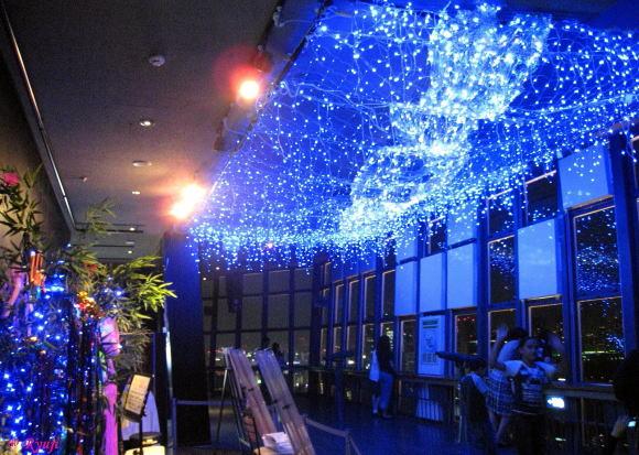東京タワー 展望台 天の川