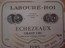 Echezeaux 1985 Laboure Roi