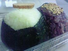 お米ギャラリーのおむすび