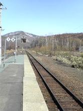 鉄道員ホーム風景