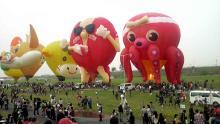 キャラクター気球