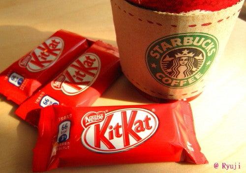 ∞最前線 通信-KitKat&Starbucks