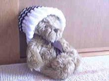 くまさん with ニット帽