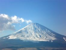 Mrs.Luckyのラッキー・チャ・チャ・チャ!-素晴しい富士山(^-^)/ 家族で観れたーー♪
