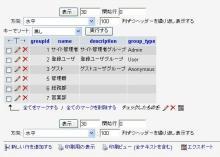 MySQLのテーブル・データ表示