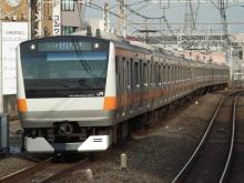 中央線の電車と釜-H48