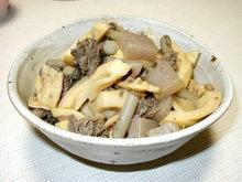 破竹とお肉の煮物