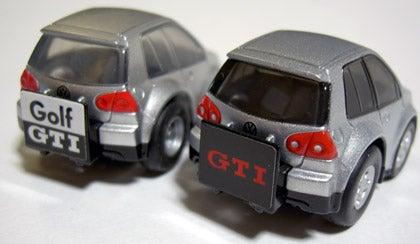 Golf GTI silver rear