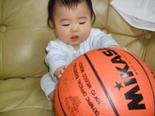 バスケだよ。