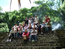 グアテマラ便り-マヤのセイバル遺跡