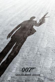 007 Quantum Of Solace poster