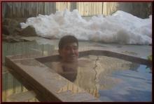 ロフトで綴る山と山スキー-野天風呂