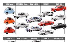 京商BMWミニカーコレクション1