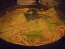 黄金屋ちゃんぽん麺