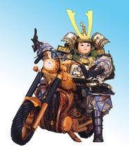 バイク乗り武者