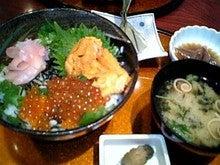いくら&ウニ二色丼