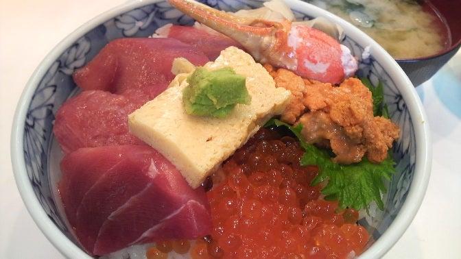 かん乃 三種盛り丼