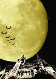 ルーマニアの月