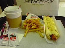 ステッチ印の小娘-hotdog