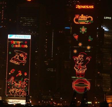 香港クリスマス