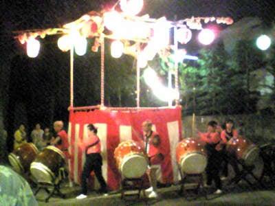 風渡野天神社_夏祭り3