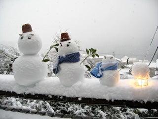 2008 雪だるま