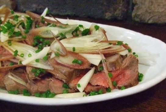 牛肉のたたきのレシピ