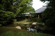 明月院 本堂後庭園
