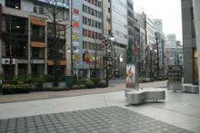 渋谷_パルコ_朝_風景
