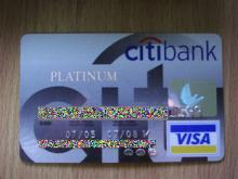 Thai CITIBANK VISA Platinum
