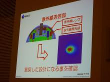 リモコン 赤外線送信部