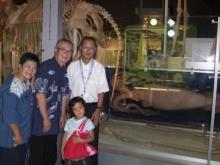科学博物館展示のダイオウイカ