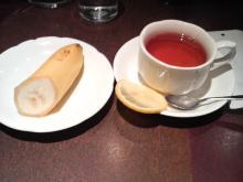 【日暮里】 「まるごとマイタウン東京」ブログ-ニューバオオレット 食後紅茶&バナナ.