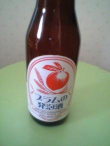 プラム赤のビール
