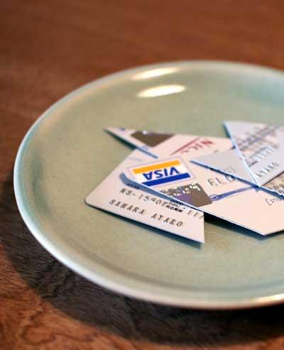 解約したクレジットカード