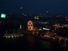 神戸ポートタワーからの夜景
