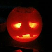 かぼちゃでこんばんは…