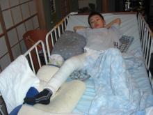 拳闘日記(ペルテス病・闘病日記)/AKIRAの拳に夢を乗せて-一時退院