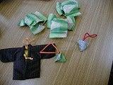 昔の帯や着物で作った匂い袋