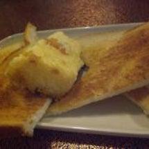 品川宿でトーストと。
