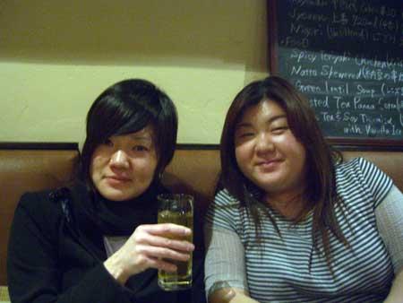 千春さんとマキさん♪