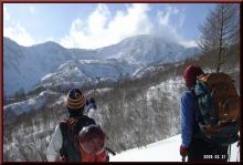 ロフトで綴る山と山スキー-ルート確認