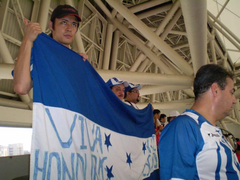 ホンジュラス国旗と!