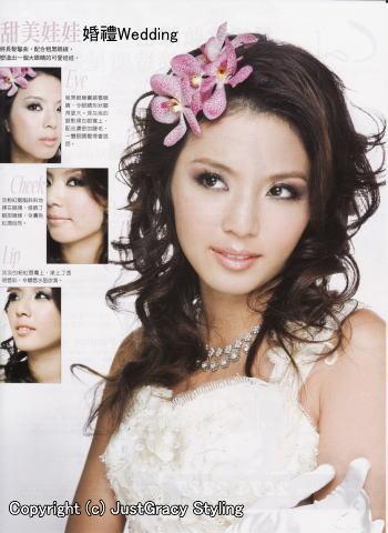 花嫁のヘアスタイル香港☆10