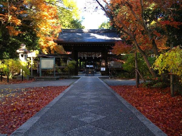 西陣に住んでます-梨木神社