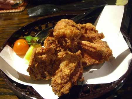 オーガニック地鶏から揚げ