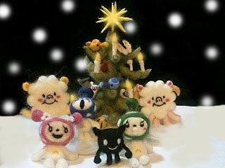 クリスマスの記念写真